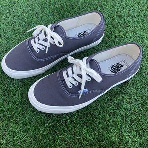Vans OG Authentic LX Asphalt/Black size 10